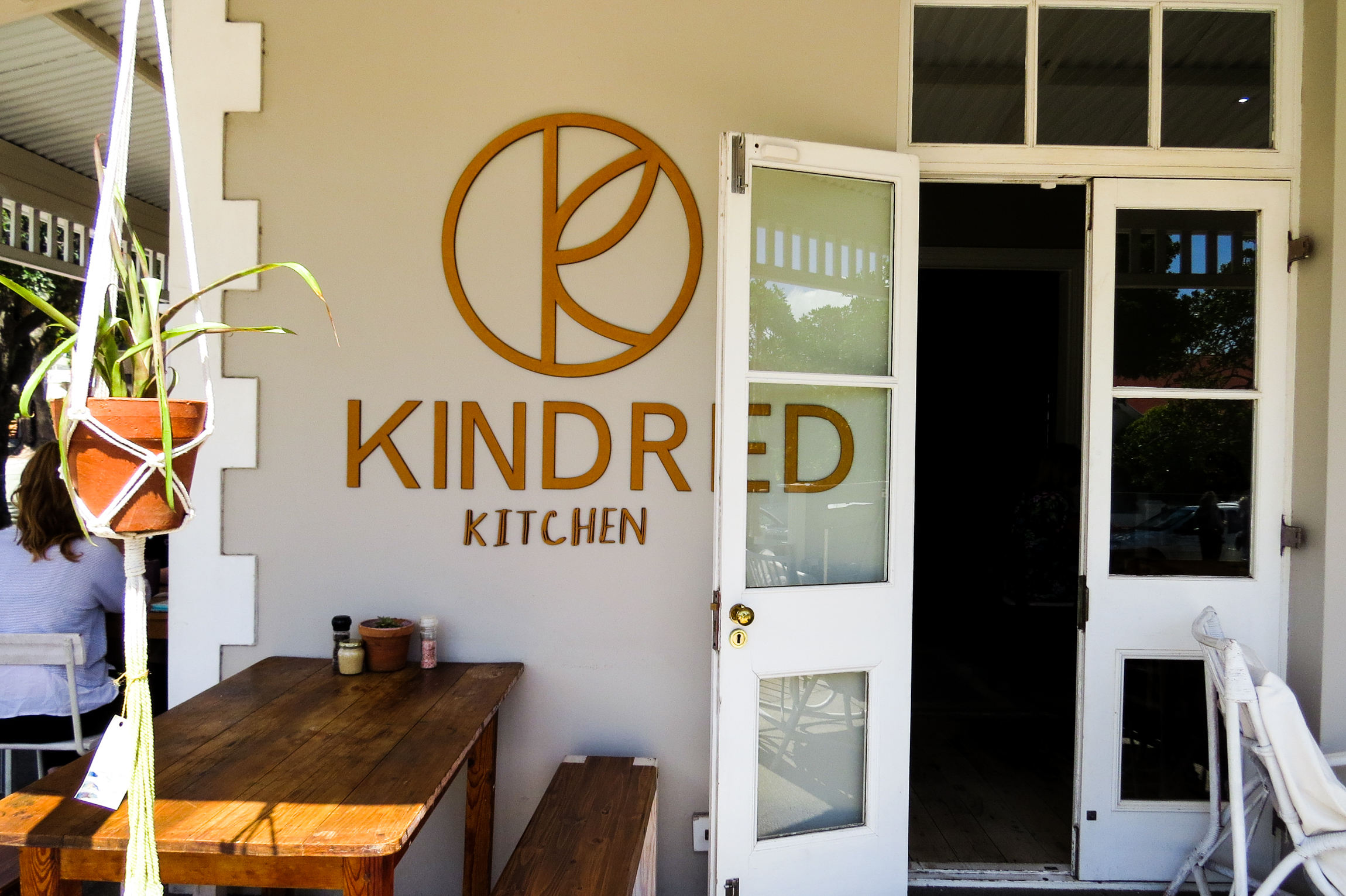 kindred kitchen outdoor area