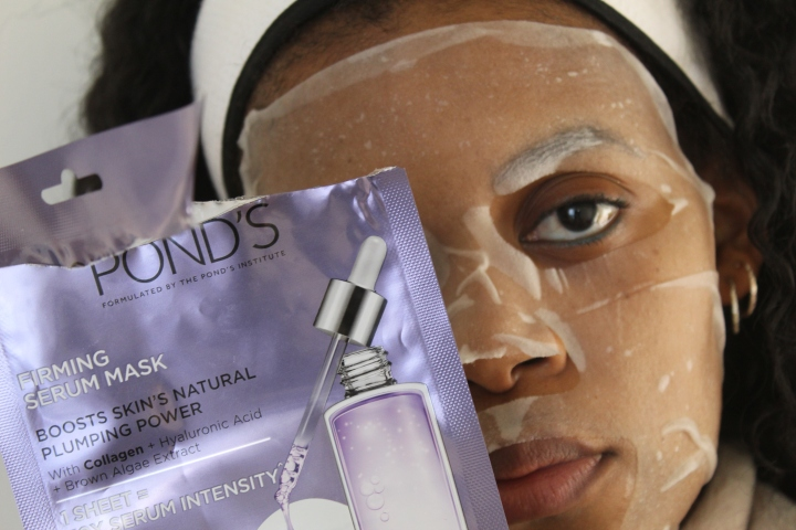 Pond's Serum Mask Review – Khalipha Ntloko