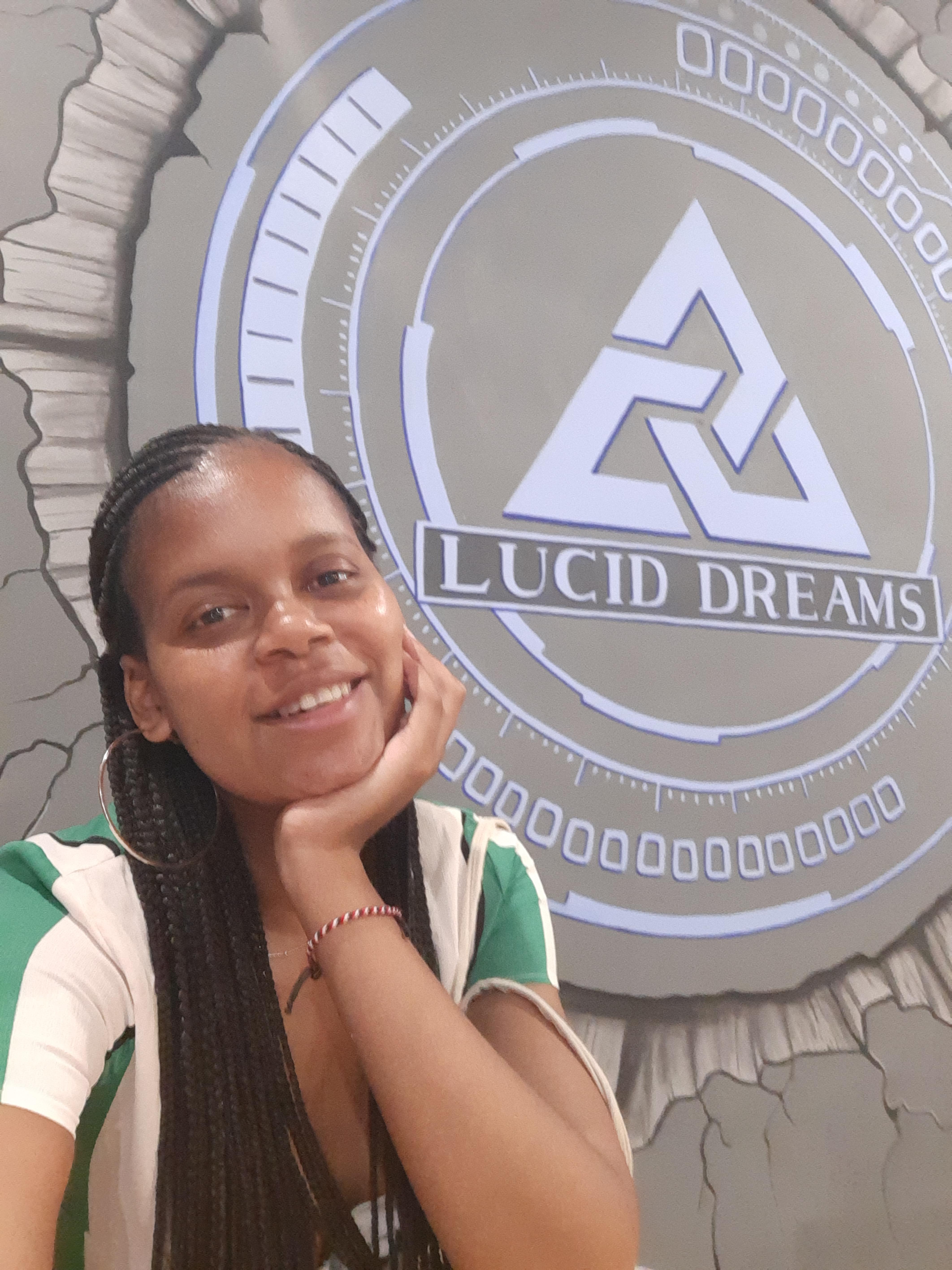girl taking a selfie at lucid dream in canguu
