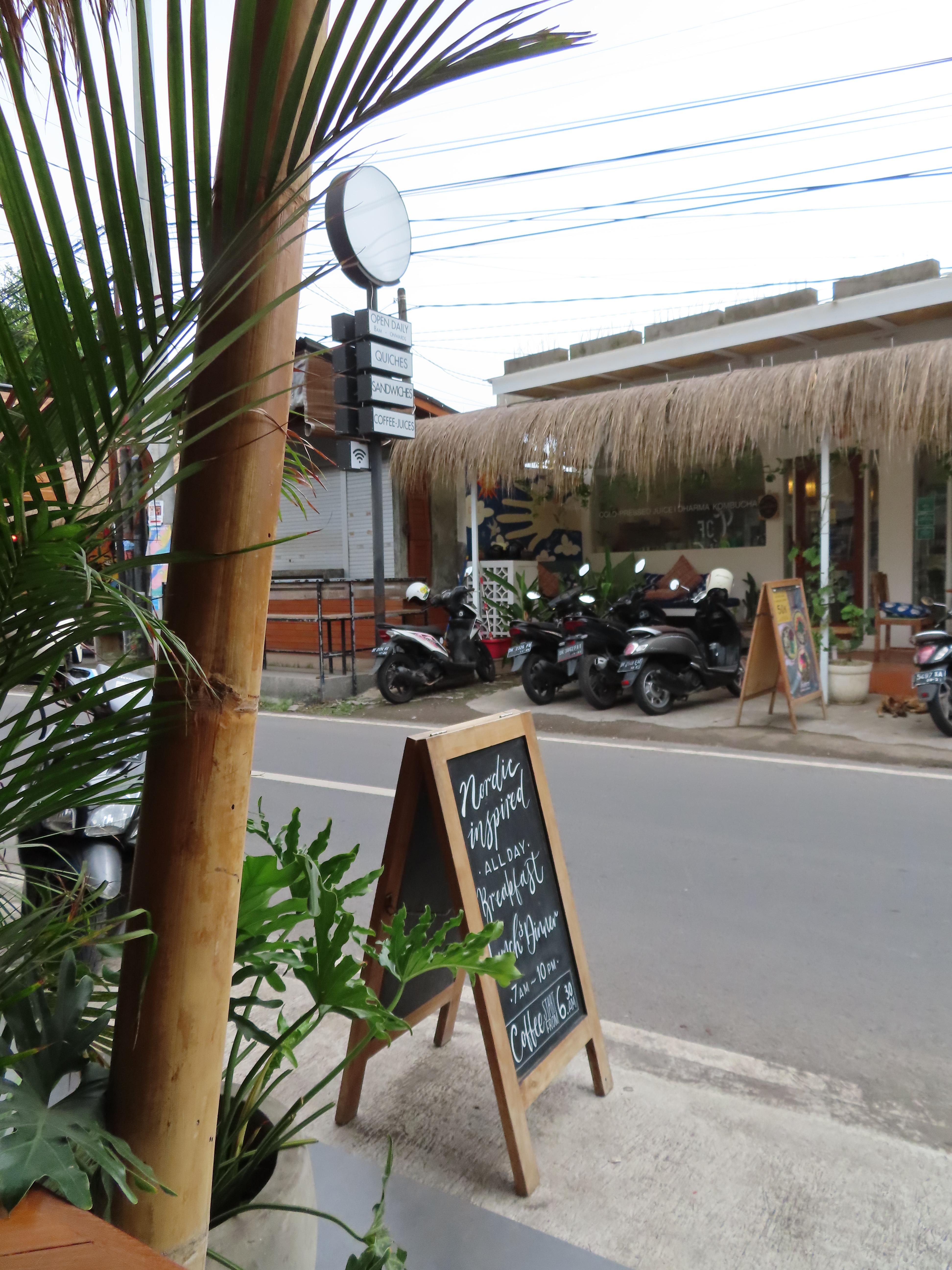 motorbikes on pavement